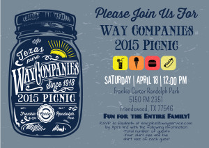 Picnic (SAVE the DATE)