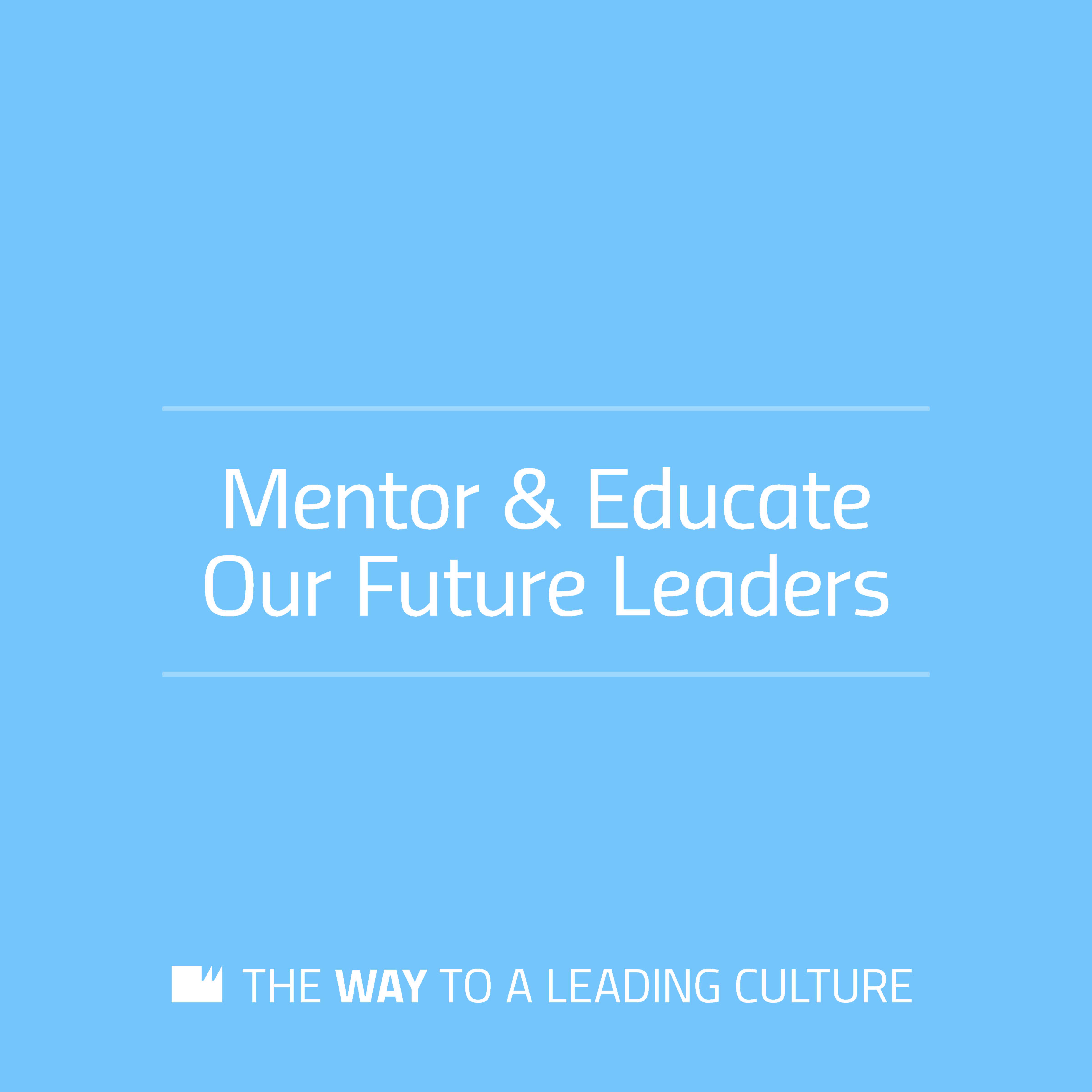 Mentor & Educate